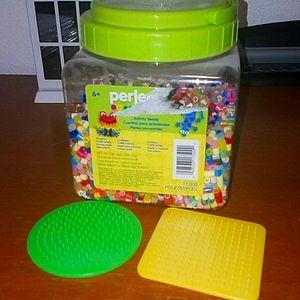 Perler Fuse Beads assorted bucket
